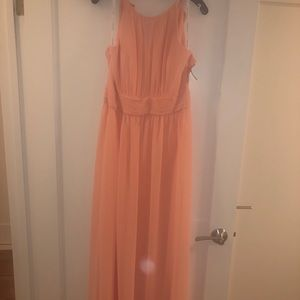 NWT David's Bridal Bellini Chiffon Gown